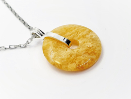 Aventurijn Geel Donut