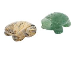 Crazy Lace Agaat en Aventurijn schildpadje
