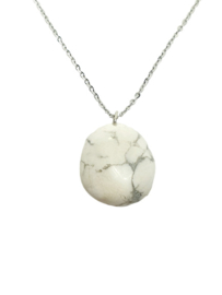 Witte Howliet Ketting