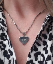 #lovelife Heart Silver&Gold