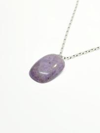Lavendel Jade Ketting