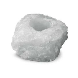 Bergkristal Theelichthouder