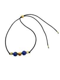 Arm-enkelbandje met Lapis Lazuli