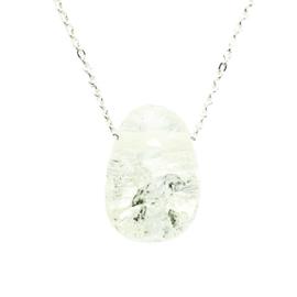 Bergkristal Cracked ketting