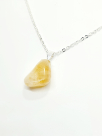 Citrien Kwarts Ketting