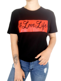 #LoveLife Shirt Rood