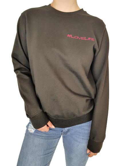 #lovelife Sweater Zwart