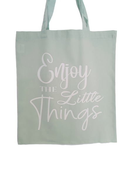 Enjoy The Little Things Bag Mint