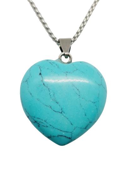 Turquoise Howliet Hart