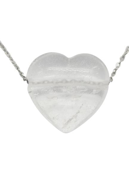 Bergkristal Hart Choker