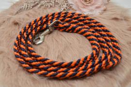 Halstertouw Oranje/Donkerblauw 12mm PPM