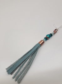 Barcelona Tassel - Luxe Small Turquoise