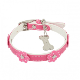 "Pinkaholic halsband ""Baby Collar"" Pink"