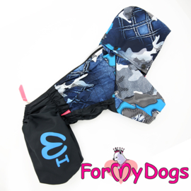 ForMyDogs - Raincoat Blue , Male