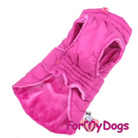 ForMyDogs - Frenchie/pugs Caparison roze - A2