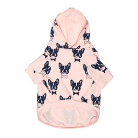 Bulltastic Roze hoodie L