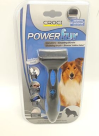 Croci - Shedding Brush Powerful Dog Long Hair Blue