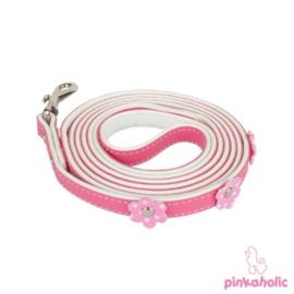 """Pinkaholic hondenlijn """"Baby Leash"""" roze"""