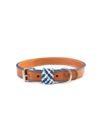 Buddys - halsband Smiley Azul