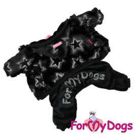 "ForMyDogs - jumpsuit, ""Stars Black"""