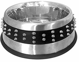 Croci - Steel bowl with rubber studs