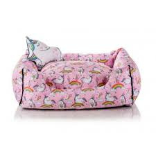 I Love My Dog - Unicorn Rainbow Bed