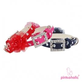 "Pinkaholic halsband ""Priscilla"""