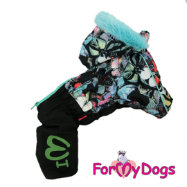 "ForMyDogs - Warm Overall, Female, ""Butterflies"""