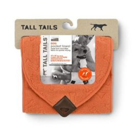 Greenfields Pocket Towel Orange Bone