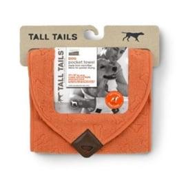 Greenfields Pocket Towel Orange Bone