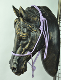 Touwhalster basic - pony - Lilac
