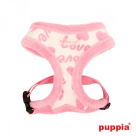 """Puppia harnas """"Love letter"""" ivoor"""