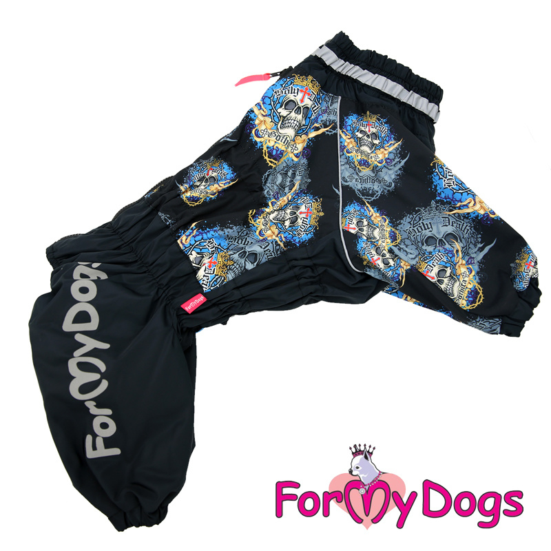 ForMyDogs - Frenchie/pugs warm overal skull - male
