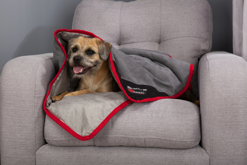 Scruffs Thermal zelfverwarmend deken bruin