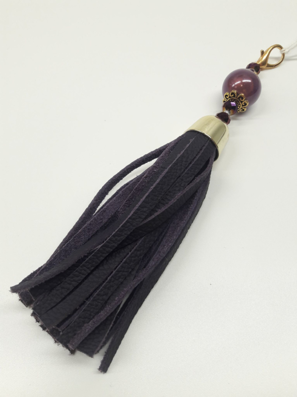 Barcelona Tassel - Luxe Big Purple