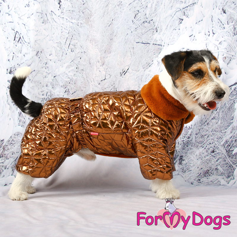 ForMyDogs - Warm Overall, Male, Bronze