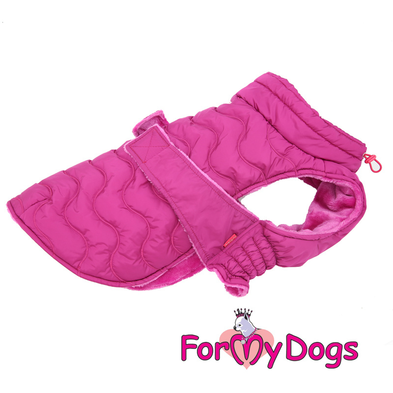 ForMyDogs - Frenchie/pugs Caparison roze