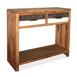 Sidetable Hout 86x30x75