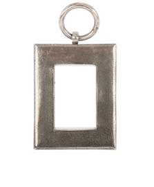Fotolijst ruw nikkel inclusief wandhaak 14x18cm