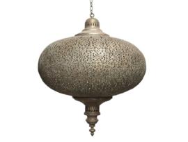 Hanglamp bruin goud