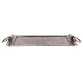 Dienblad metaal 80x32.5cm