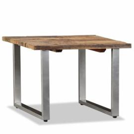 Bijzettafel salontafel 55x55x40cm