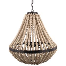 Hanglamp kralen naturel
