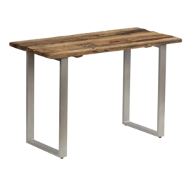Sidetable Massief Gerecycled  Hout Staal 118x55x76 cm