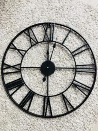 Klok zwart 40cm