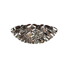 Plafoniere zilver doorsnede 30cm