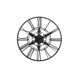 Wandklok zwart 40cm