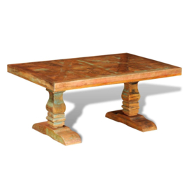 Salontafel Kloostertafel Massief Hout