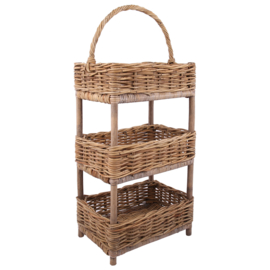 Etagere hout 3laags