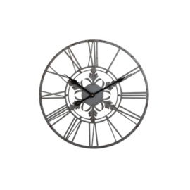 Wandklok grijs 40cm
